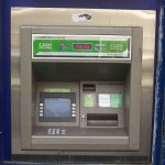 Picture of cash machine