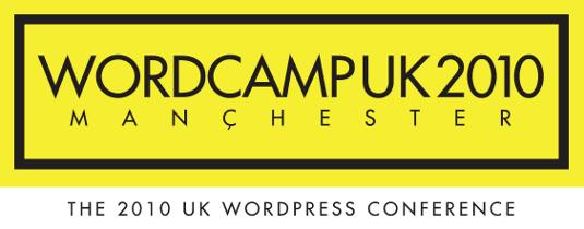WordCamp UK 2010 logo version 2