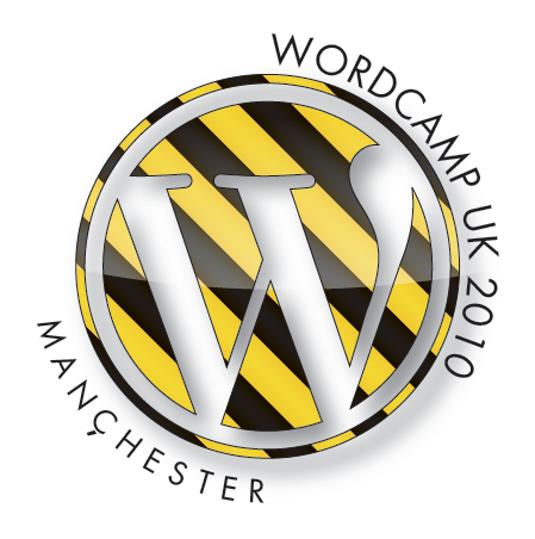 WordCamp UK 2010 logo version 3