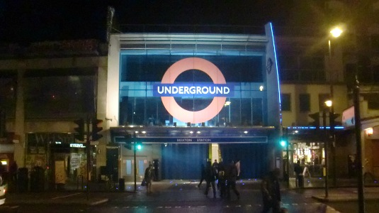 Picture of Brixton Tube station