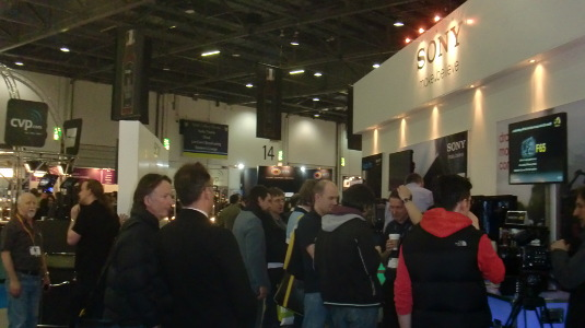 Picture of interior of BVE 2013