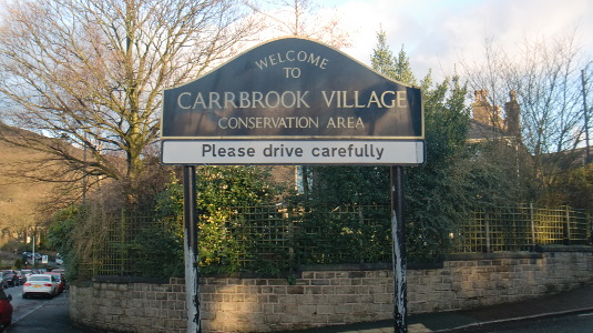 Picture of Carrbrook sign