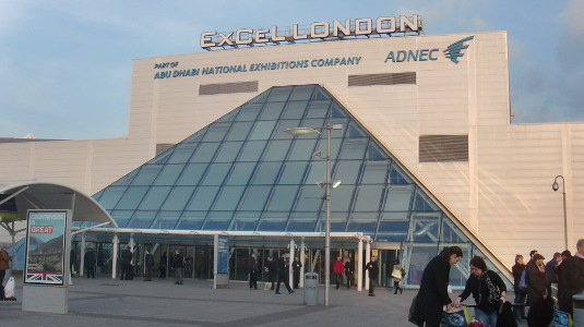 Picture of exterior of ExCel London