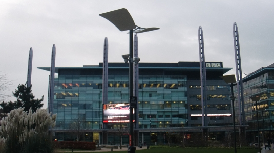 Picture of Christmas 2013 at MediaCityUK
