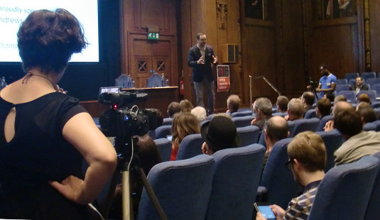 Picture of Tim Wu at ORGcon 2013