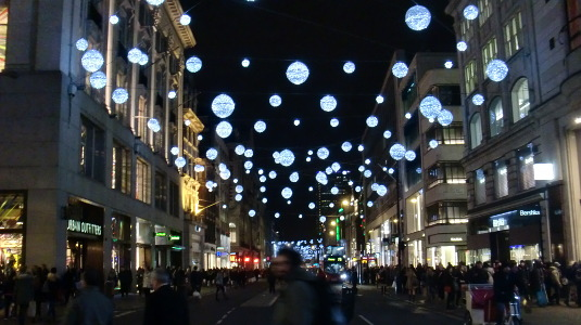 Picture of Christmas 2013 at Oxford Street