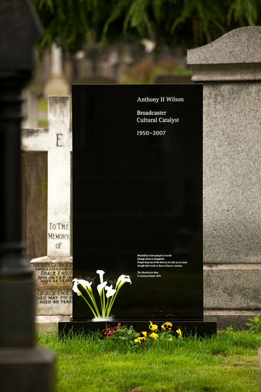 Picture of Anthony H Wilson memorial