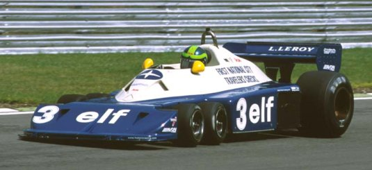 Picture of 6 wheel Tyrell-Ford P34-6 77 Formula 1 car