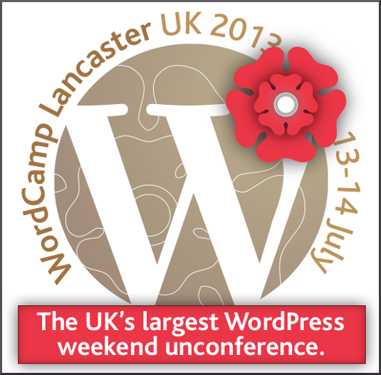 WordCamp Lancaster UK 2013 logo