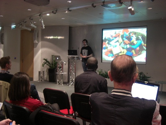Picture of WordPress London meeting
