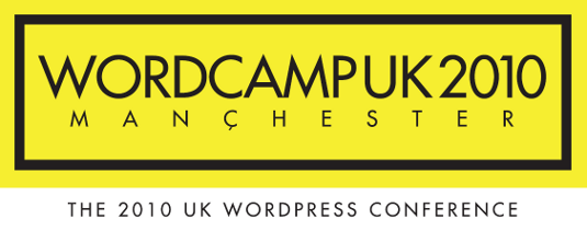 WordCamp UK 2010 logo version 2