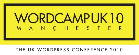 WordCamp UK 2010 logo