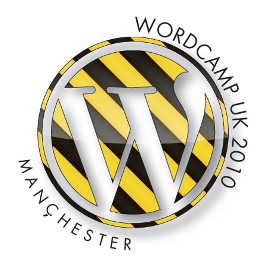 WordCamp UK 2010 logo version 3