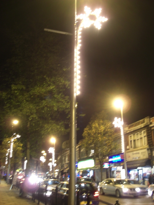Picture of Acton Christmas lights 2011