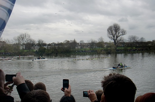 Picture of the 2010 Boat Race