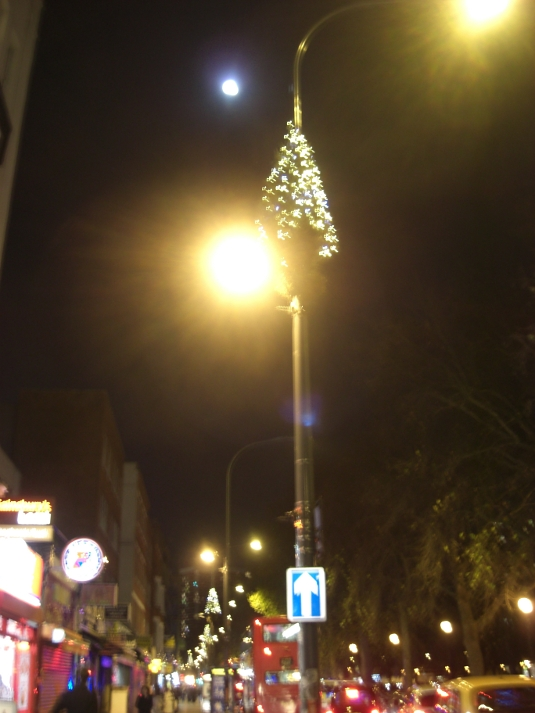 Picture of Shepherds Bush Christmas lights 2011