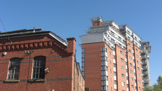 Picture of Charles Street Manchester in 2012
