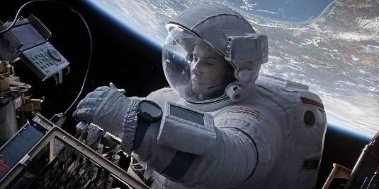 Still fron the brilliant film Gravity