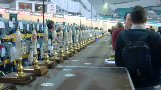 Picture of Manchester Beer and Cider Festival 2014 bar