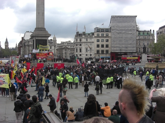 Picture of May Day 2012 at Trafalgar Square