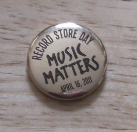 Picture Record Store Day 2011 badge