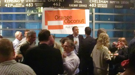 Picture of Orange Coconut launch party
