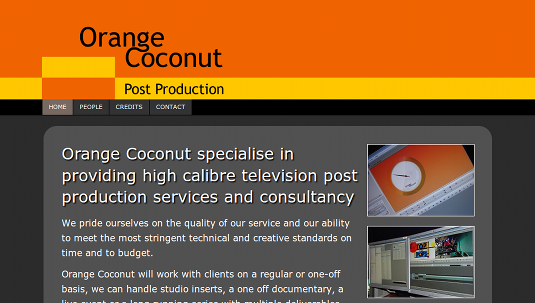 Picture of Orange Coconut site