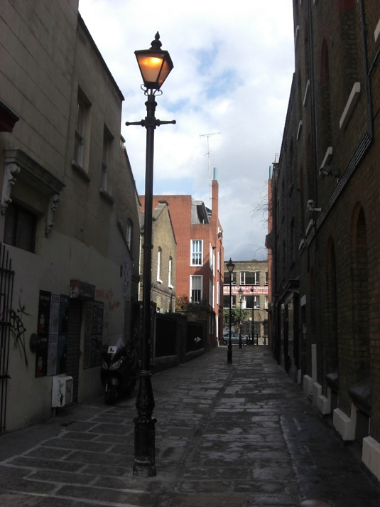 Picture of alleyway E1