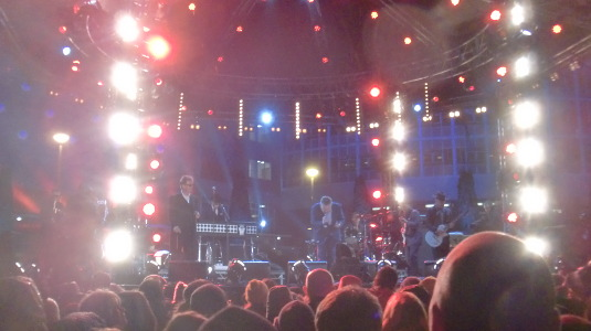 Picture of Madness performing at Television Centre
