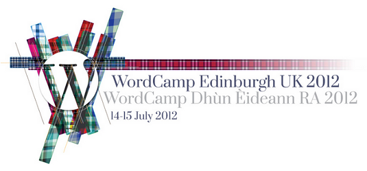 WordCamp Edinburgh UK 2012 logo